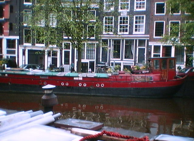 Prime real estate on the canals of Amsterdam