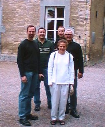 Group shot at a Limburg château