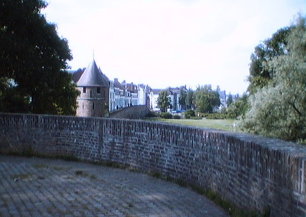 The outer fortified wall of Maastricht