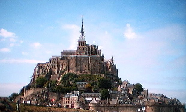 Le Mont St-Michel in the sun