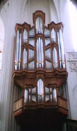Pipe Organ 1 - Cathedral of Our Lady, Antwerp