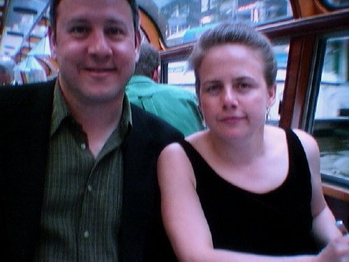 Steve and Susan on our dinner cruise